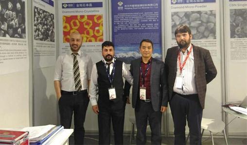 2017 Salon international de la pierre et de la technologie d'Izmir, Turquie